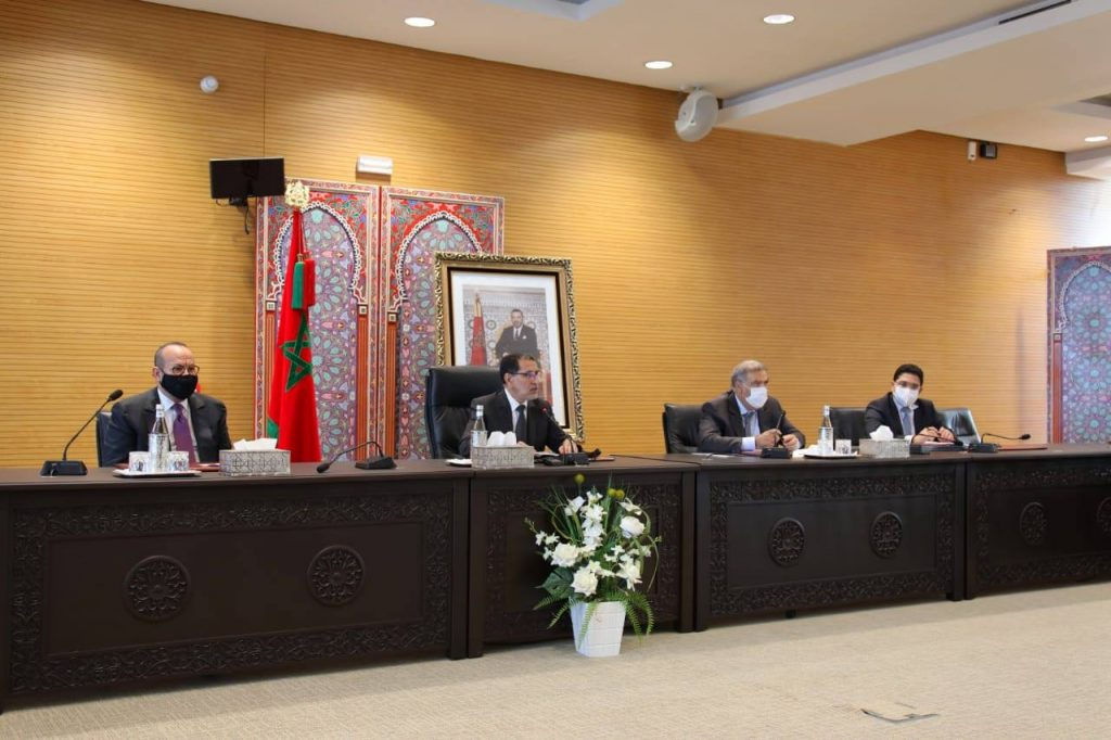 Les dirigeants des partis politiques mis au courant des derniers développements à Guergarate