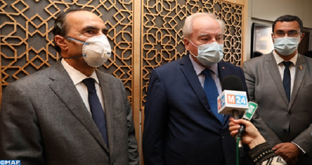 Le rôle du Maroc dans la promotion des valeurs de paix salué par un responsable du Sénat français