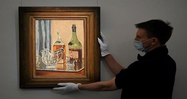 Enchères: Une toile de Churchill adjugée, à Londres, à plus d'un million d'euros