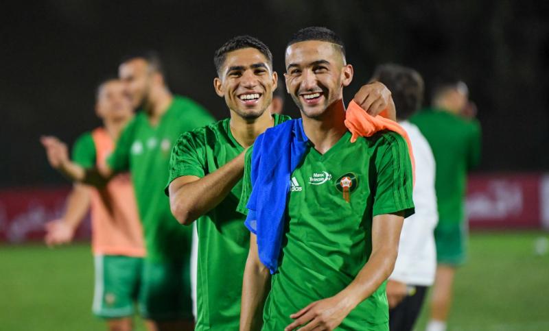 Football: Deux joueurs Marocains dans l'équipe type africaine