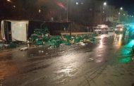 Le chauffeur du camion des boissons alcoolisées, renversé à Rabat, était en état d'ivresse avancé