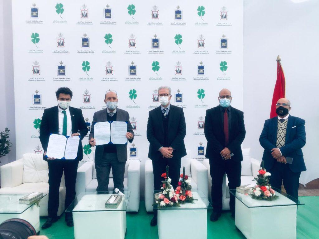 La société « Mecomar » devient le nouveau gestionnaire des déchets ménagers et assimilés à Marrakech