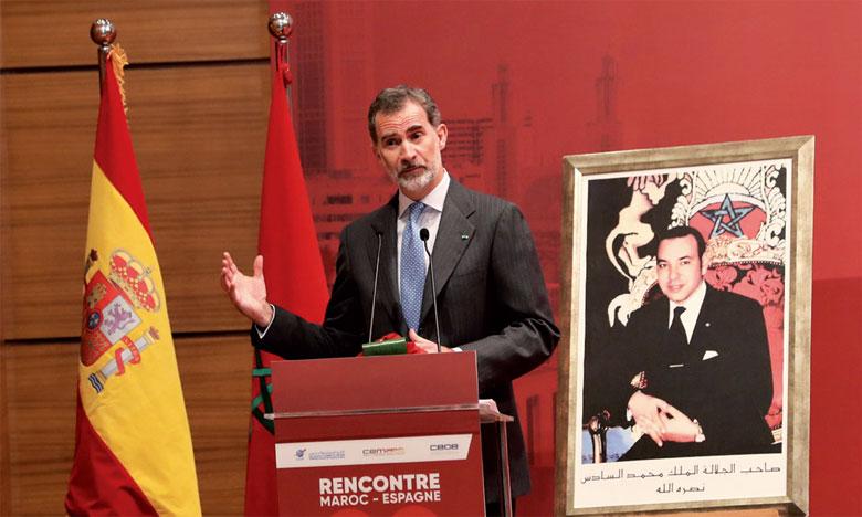 Maroc-Espagne: Le Roi Felipe VI insiste sur l'importance des relations entre les deux pays