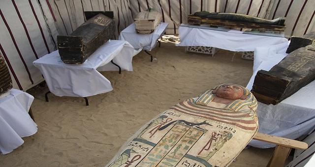 Archéologie: L'Egypte dévoile de nouveaux trésors vieux de plus de 3.000 ans