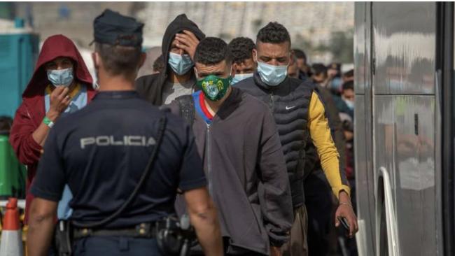 Dix clandestins algériens interceptés au large des côtes espagnoles