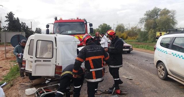 Maroc: Baisse conséquente des accidents de la routeen 2020