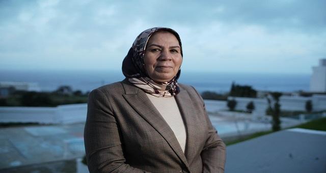 La militante marocaine Latifa Ibn Zyaten reçoit le prestigieux