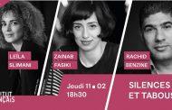 Rencontre avec Leïla Slimani, Rachid Benzine, et Zainab Fasiki pour déjouer les tabous
