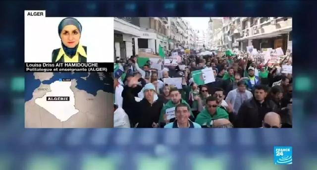 Algérie : Le gouvernement menace France 24 de retrait d'accréditation à cause de ses couvertures des manifestations du Hirak