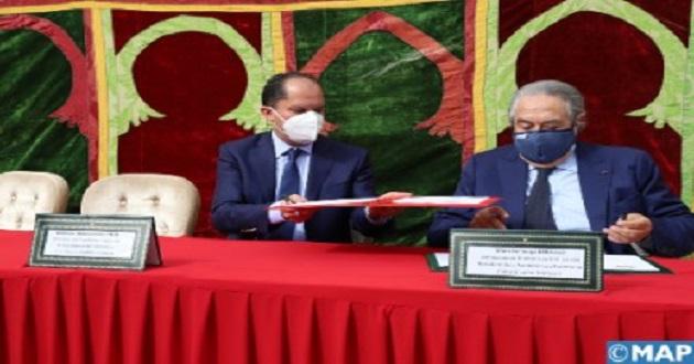 Casablanca: Signature de 2 conventions pour la consécration des valeurs du vivre-ensemble