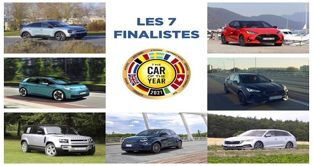 Voiture de l'année 2021: La liste des sept finalistes dévoilée