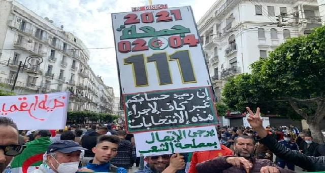 111e vendredi du Hirak algérien: La presse occidentale aux abonnés absents