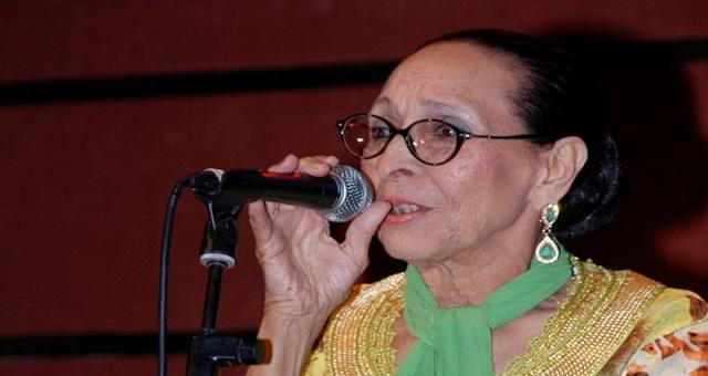 La diva de la chanson populaire Hajja El Hamdaouia s'est éteinte à l'âge de 91 ans
