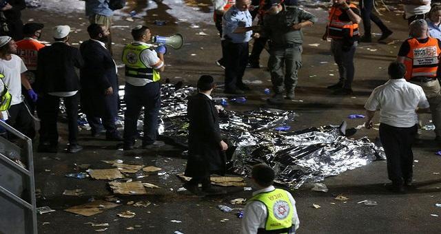 Au moins 44 morts dans une bousculade géante pendant un pèlerinage juif au nord d'Israël