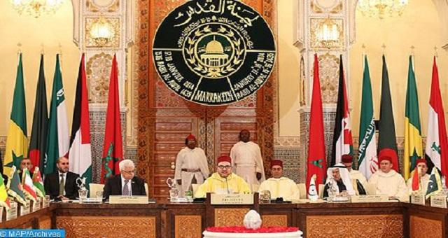 L'OCI salue le rôle du Comité Al Qods, sous la présidence de Sa Majesté, dans la protection des lieux saints