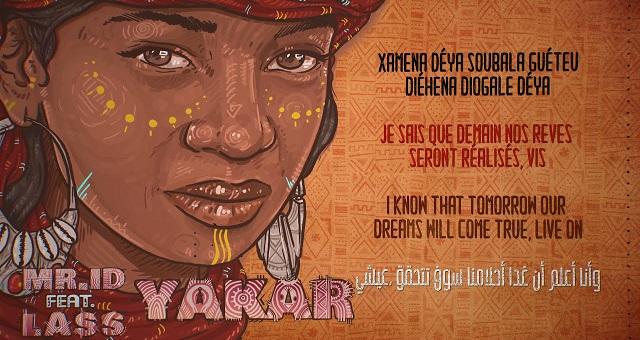 «Yakar», nouvelle sortie de Mr. ID en featuring avec le Sénégalais Lass et le Marocain Mehdi Nassouli
