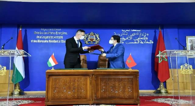 Nasser Bourita: «La Hongrie a toujours eu des positions claires et constructives sur la question du Sahara marocain»