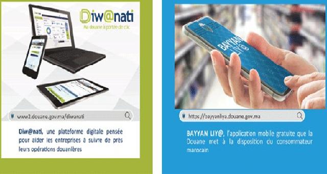 La Douane met en service une nouvelle version de la plateforme digitale Diw@nati