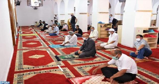 SM le Roi donne Ses Hautes instructions pour la réouverture progressive des mosquées