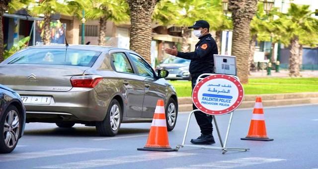 Rabat: Interpellation de 33 individus pour violation de l'Etat d'urgence sanitaire et conduite dangereuse