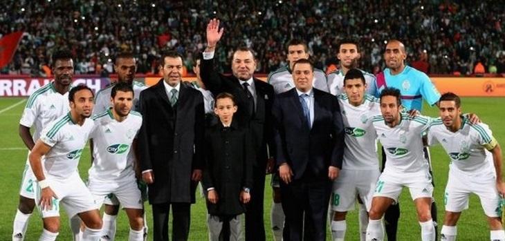 SM le Roi adresse un message de félicitations au Raja Club Athletic suite à sa consécration à la Coupe Mohammed VI des clubs arabes champions