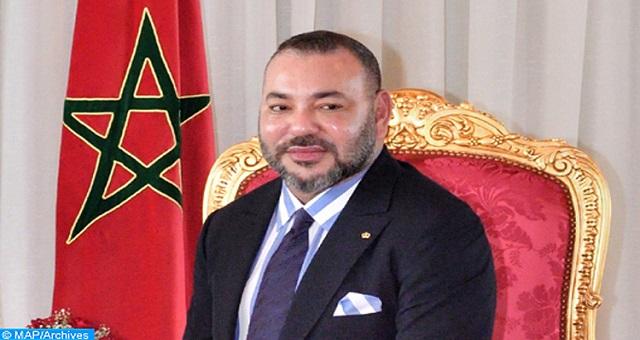 Message de félicitations de SM le Roi au champion olympique Soufiane El Bakkali