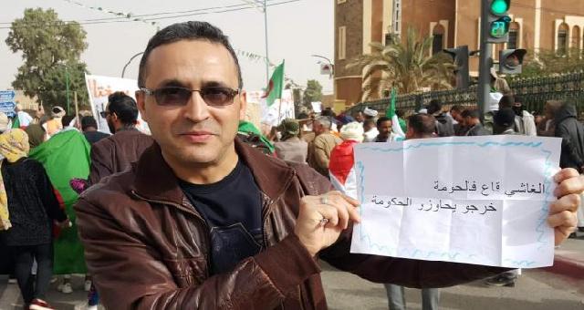 Douze mois de prison à l'encontre d'un journaliste algérien