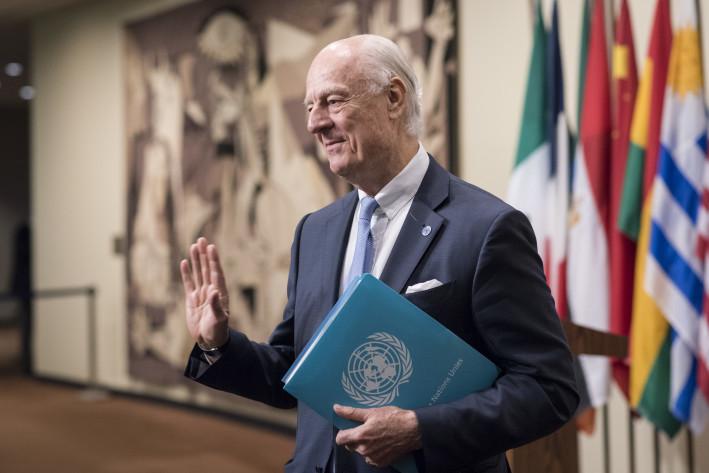 Officiel: Le SG de l'ONU nomme M. Staffan de Mistura en tant que son Envoyé personnel pour le Sahara marocain