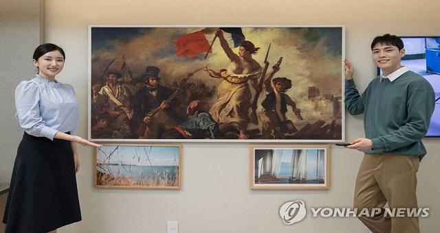 Samsung signe un partenariat avec le Louvre pour sa plate-forme TV d'œuvres d'art