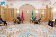 Aziz Akhannouch remet un message écrit du Souverain au Prince Héritier d'Arabie Saoudite