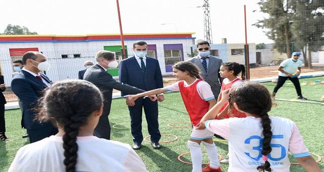 Casablanca:TIBUinaugure unnouveau centrede développement des compétencespar le sport
