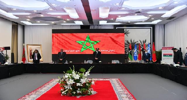 Rabat : Début de la réunion consultative libyenne entre la Chambre des représentants et le Haut Conseil d'Etat sur la loi électorale