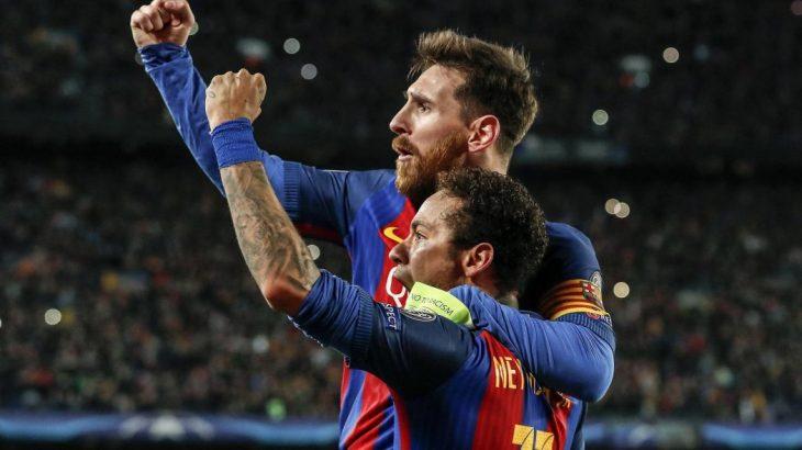 Neymar fait l'éloge de Messi